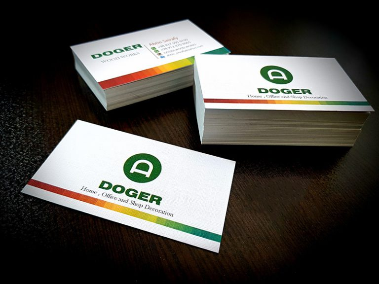 کد 729 نمونه کارت ویزیت کتان